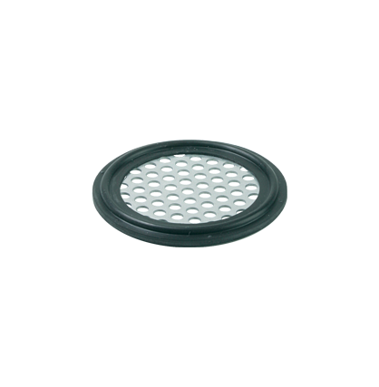 Perforated plate gasket