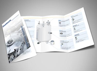 Tank brochure mock up